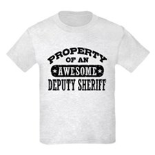 Property of an Awesome Deputy Sheriff T-Shirt