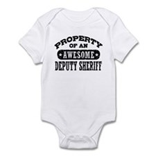 Property of an Awesome Deputy Sheriff Infant Bodys