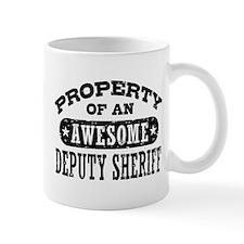 Property of an Awesome Deputy Sheriff Mug