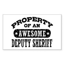 Property of an Awesome Deputy Sheriff Decal