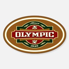 Olympic Old Label Decal
