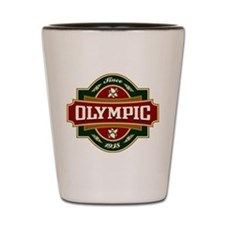 Olympic Old Label Shot Glass