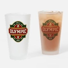 Olympic Old Label Drinking Glass