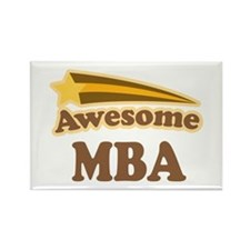 Awesome MBA Rectangle Magnet