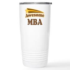Awesome MBA Travel Coffee Mug