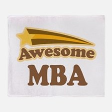 Awesome MBA Throw Blanket