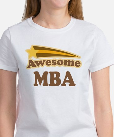 Awesome MBA Women's T-Shirt
