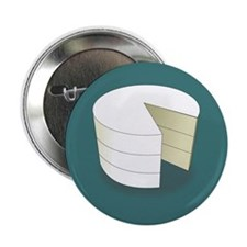 """Simply Cake 2.25"""" Button (10 pack)"""
