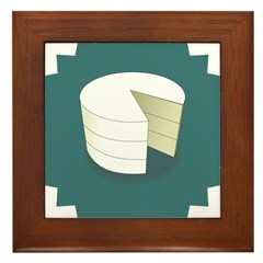 Simply Cake Framed Tile