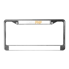 Simply Cake License Plate Frame