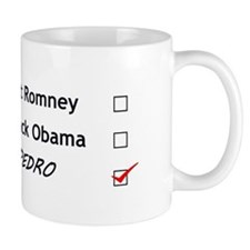 Vote for Pedro Mugs