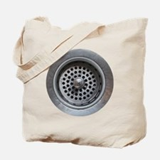 Kitchen Sink Drain Tote Bag