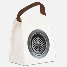 Kitchen Sink Drain Canvas Lunch Bag