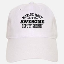 World's Most Awesome Deputy Sheriff Cap
