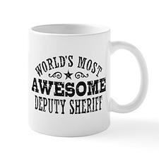 World's Most Awesome Deputy Sheriff Mug