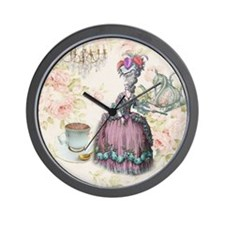 cute marie antoinette Wall Clock
