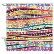 Colorful Pattern Shower Curtain