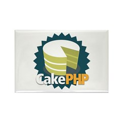 CakePHP Rectangle Magnet (10 pack)