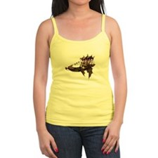 Winged steampunk barge Tank Top