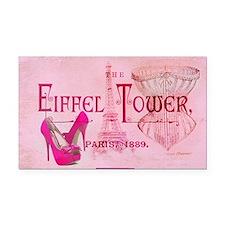 eiffel tower stiletto Rectangle Car Magnet