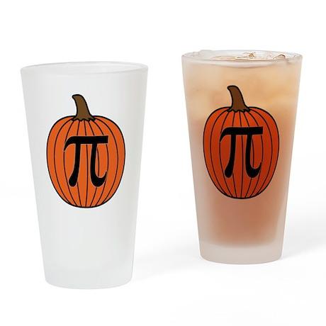 Pumpkin Pi Drinking Glass