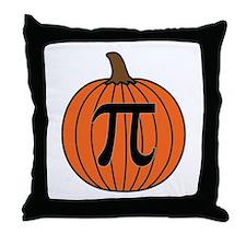 Pumpkin Pi Throw Pillow