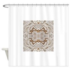 vintage lace fashion Shower Curtain