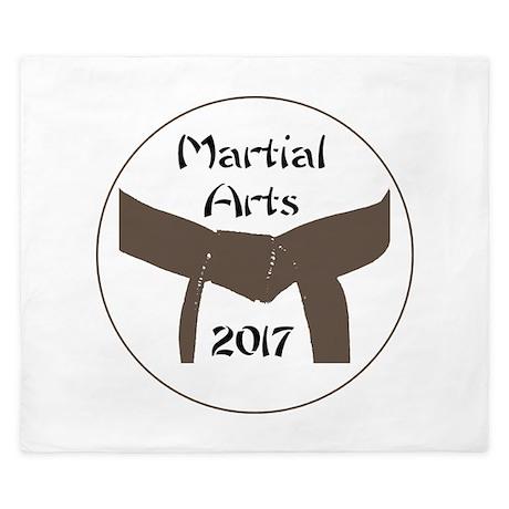 martial arts brown belt 2013 king duvet by martialartsgift