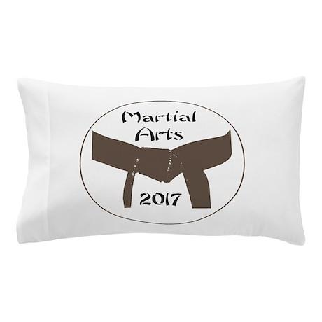 martial arts brown belt 2017 pillow by martialartsgift