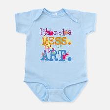 It's not a Mess, It's Art Infant Bodysuit
