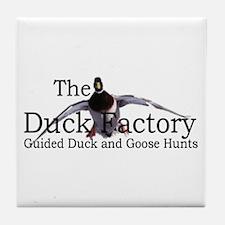Cute Duck duck goose Tile Coaster