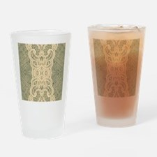 burlap lace fashion Drinking Glass