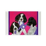 GSP Puppies Rule Rectangle Magnet (10 pack)