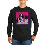 GSP Puppies Rule Long Sleeve Dark T-Shirt