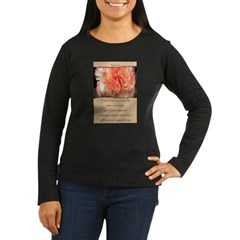 Mathew 6:30 Women's Long Sleeve Dark T-Shirt