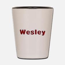Wesley Santa Fur Shot Glass