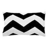 Black and white chevron bedding Bedroom Décor