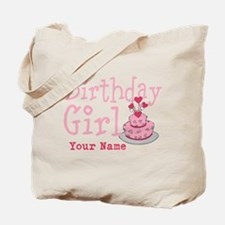 Birthday Girl - Customized Tote Bag