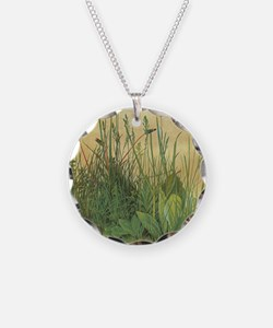 Large Piece of Turf by Albre Necklace