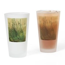 Large Piece of Turf by Albrecht Dur Drinking Glass