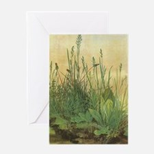 Large Piece of Turf by Albrecht Dure Greeting Card