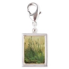 Large Piece of Turf by Albre Silver Portrait Charm