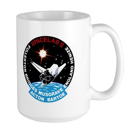 STS-51F Challenger Large Mug