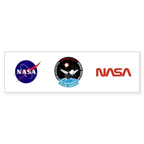 STS-51F Challenger Sticker (Bumper)