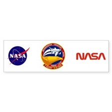 STS-51G Discovery Bumper Sticker
