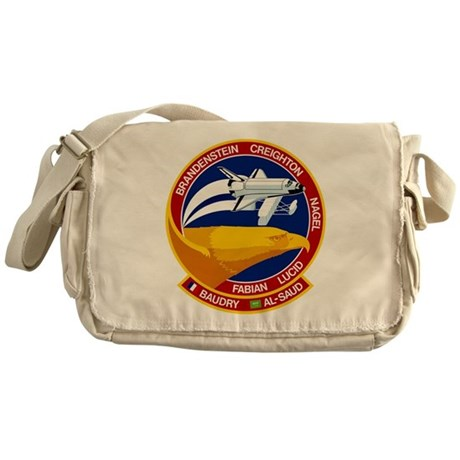 STS-51G Discovery Messenger Bag