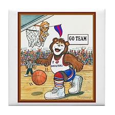 Basketball (Male) Tile Coaster