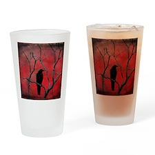 Red Velvet Drinking Glass