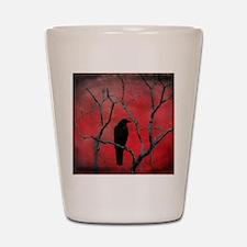Red Velvet Shot Glass