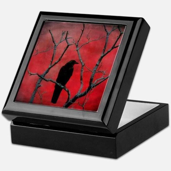 Red Velvet Keepsake Box